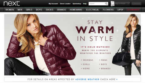 Improve website navigation give a good customer for Good sites for online shopping